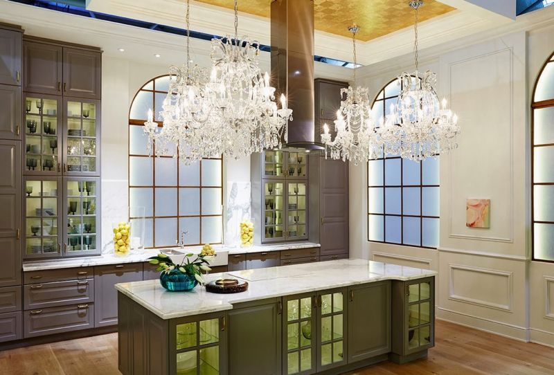 Kitchen and dining room in the Classic Style, Contemporary