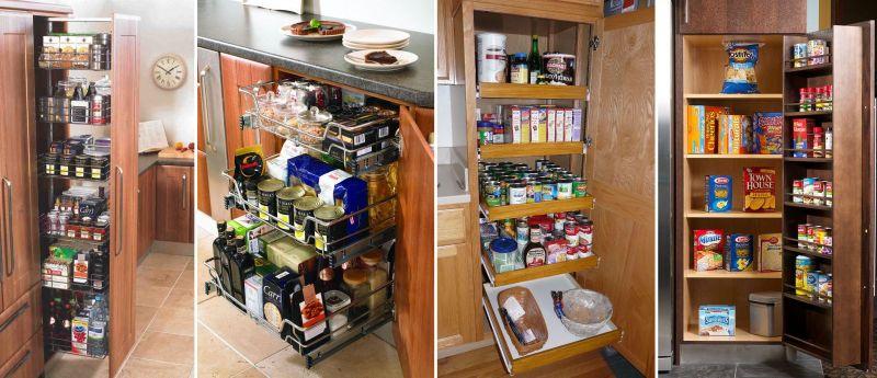 Kitchen pantry for kitchen storage solution ideas