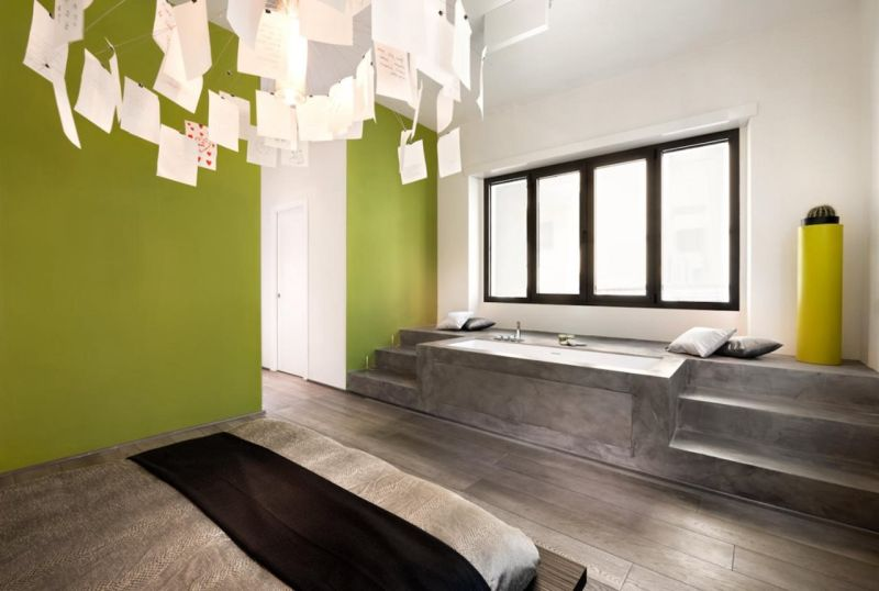 Luxury Avant-garde bathroom and bedroom interior design