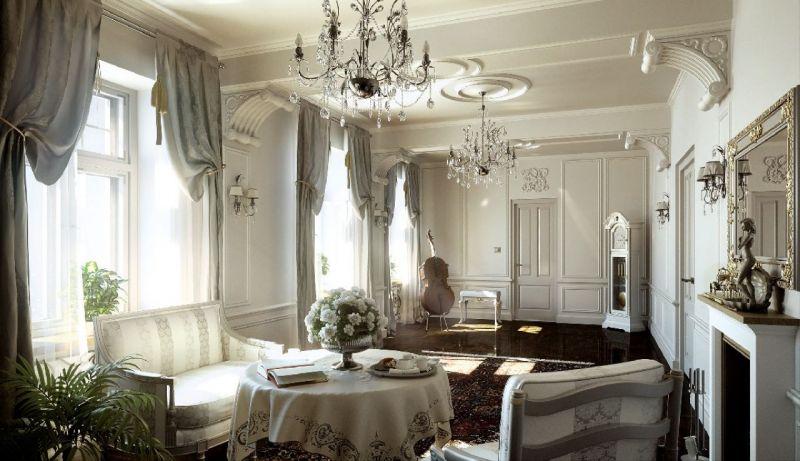 Luxury Classic Style Living room interior design