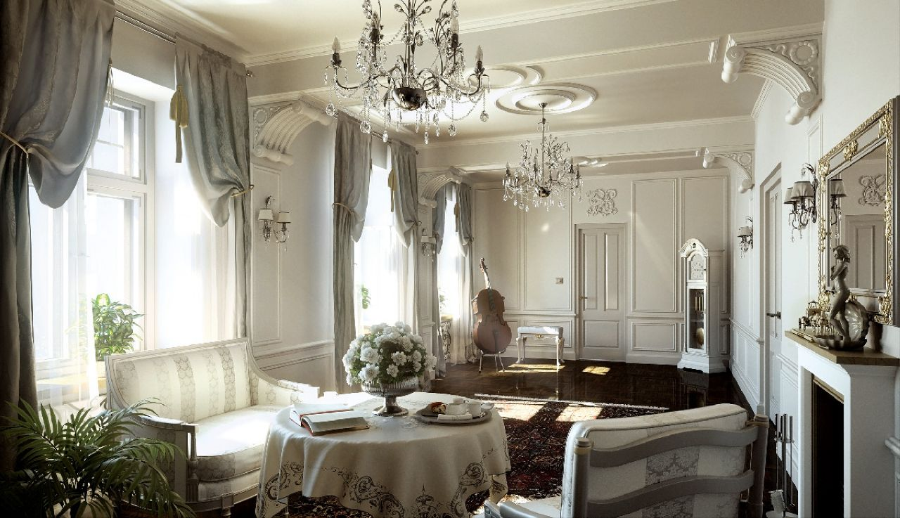 Classic style interior design ideas for Luxury classic interior design