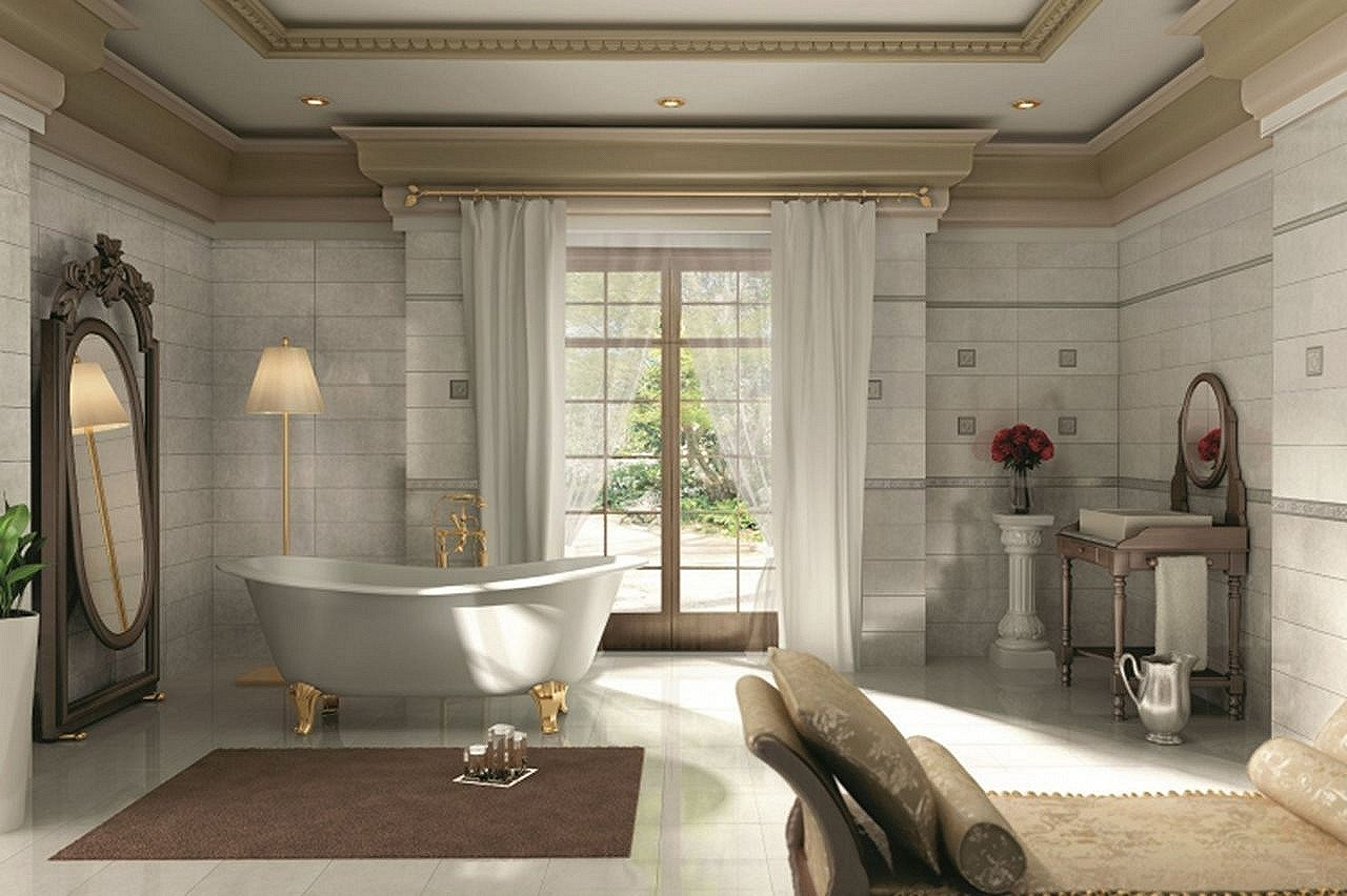 Empire style interior design ideas Empire bathrooms