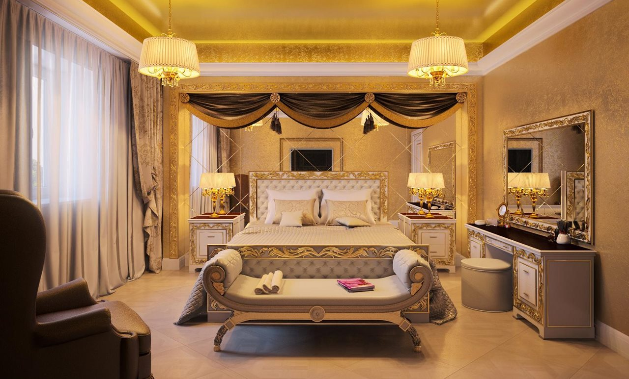 Empire style interior design ideas Photos of bedrooms interior design