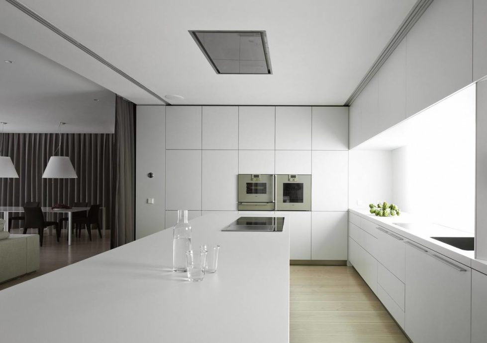 Minimalist style - Kitchen and dining room