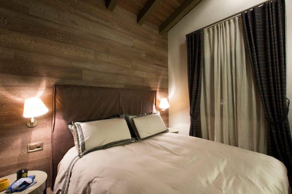 Modern Apartment in Switzerland - Contemporary Master Bedroom Decorating Ideas