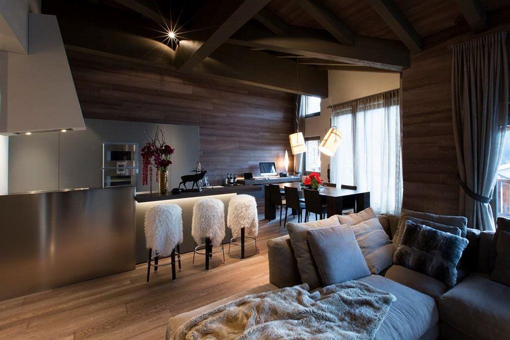 Apartment in Switzerland: Fresh Ideas and Curious Interior Design
