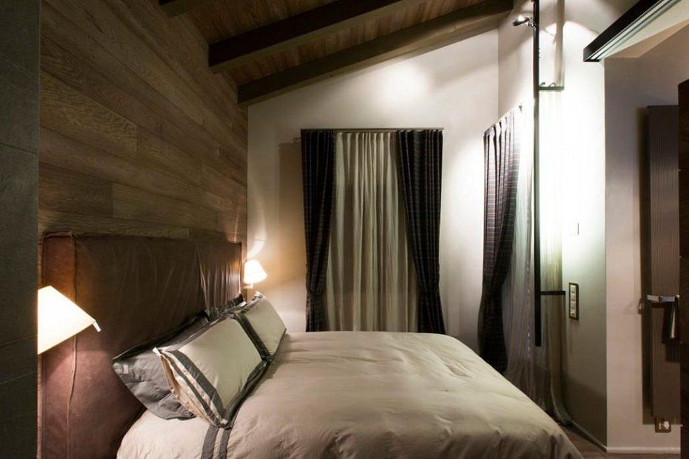 Modern Apartment in Switzerland - bedroom