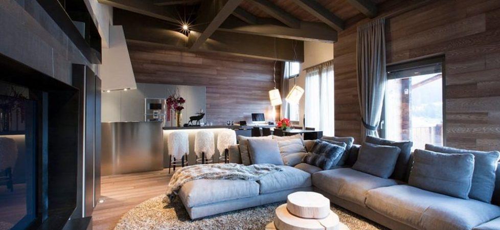 Modern Apartment in Switzerland: Fresh Ideas and Curious Interior Design