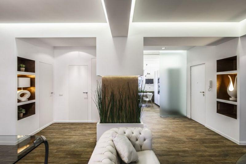 Modern minimalist design style - Living room