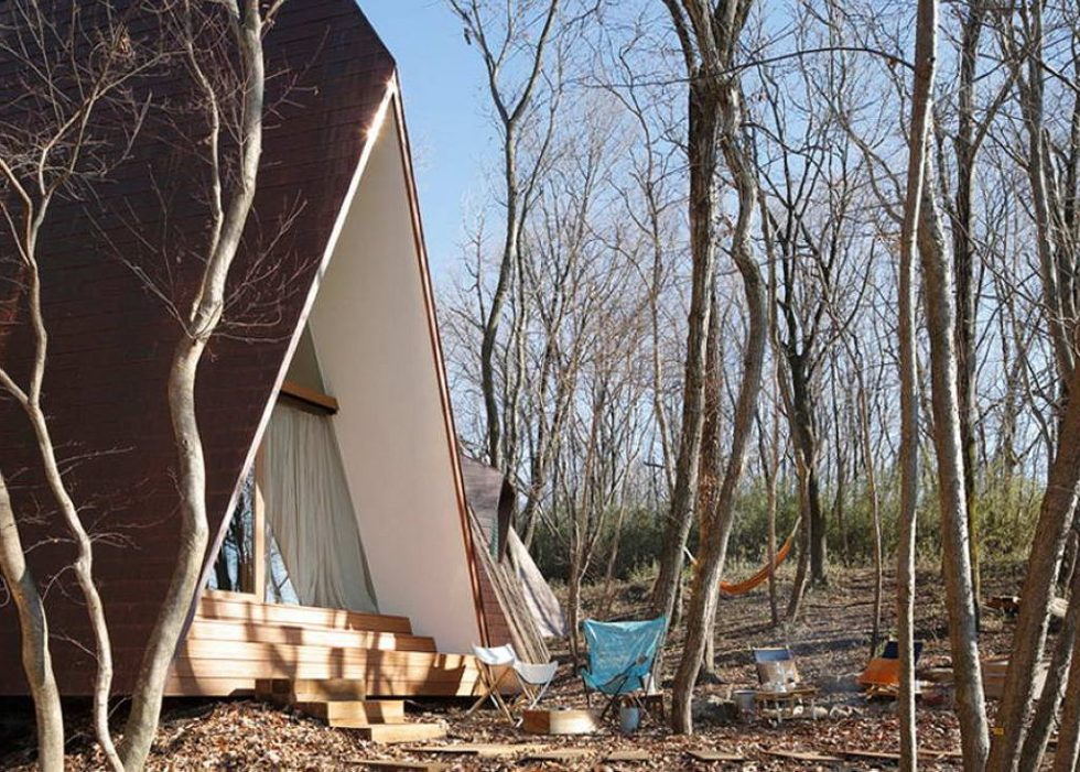 Nasu Tepee - Country House in the Form of Several Tents