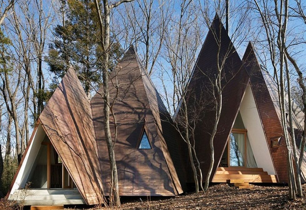 Nasu Tepee house by NAP Architects