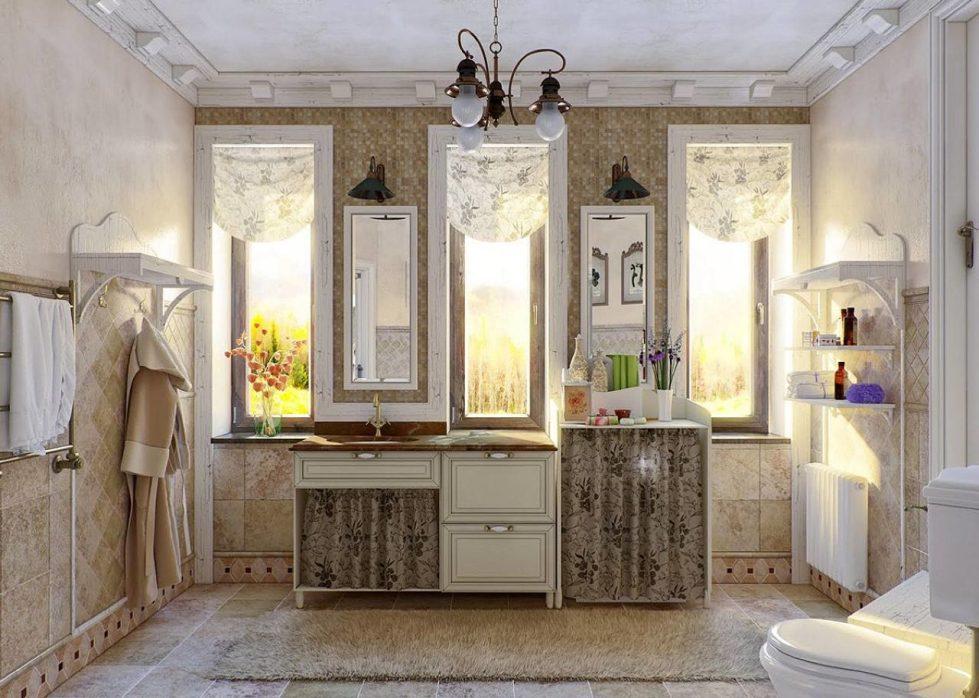 Provence Style Bathroom Design Ideas