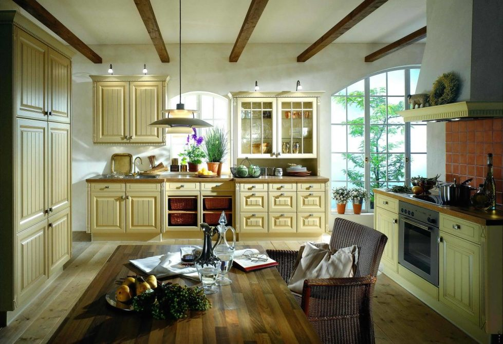 Provence Style Interior Kitchen Design