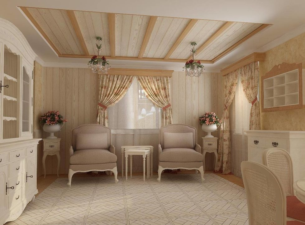 Provence Style Interior design - Living room