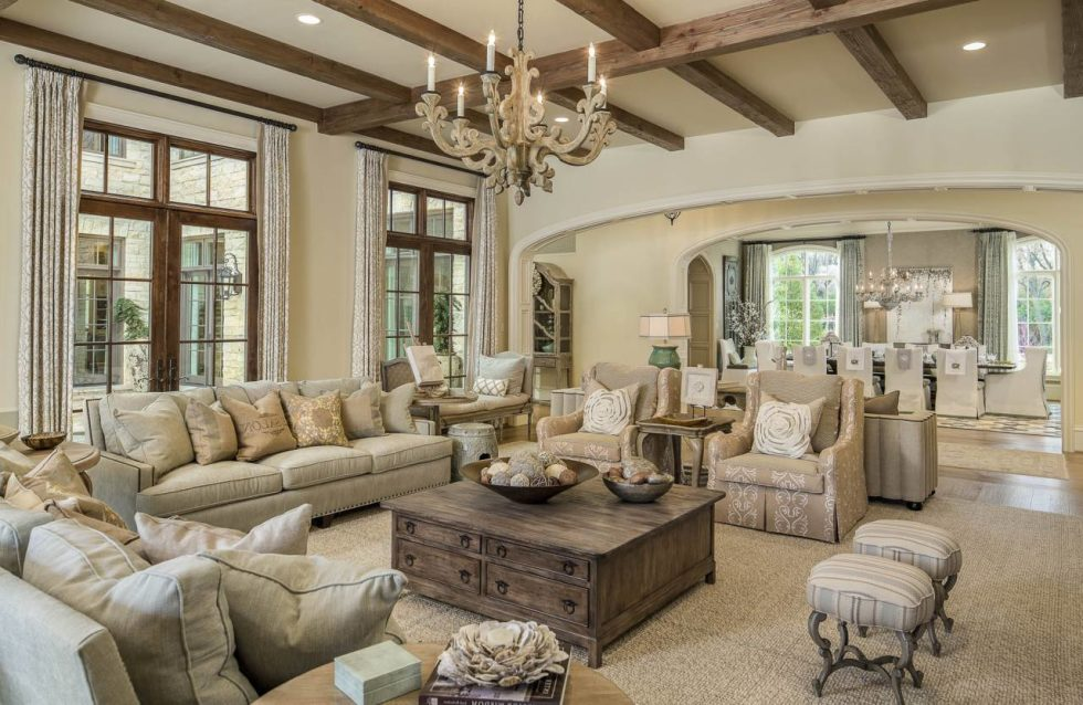 Provence Style Living room Design Ideas