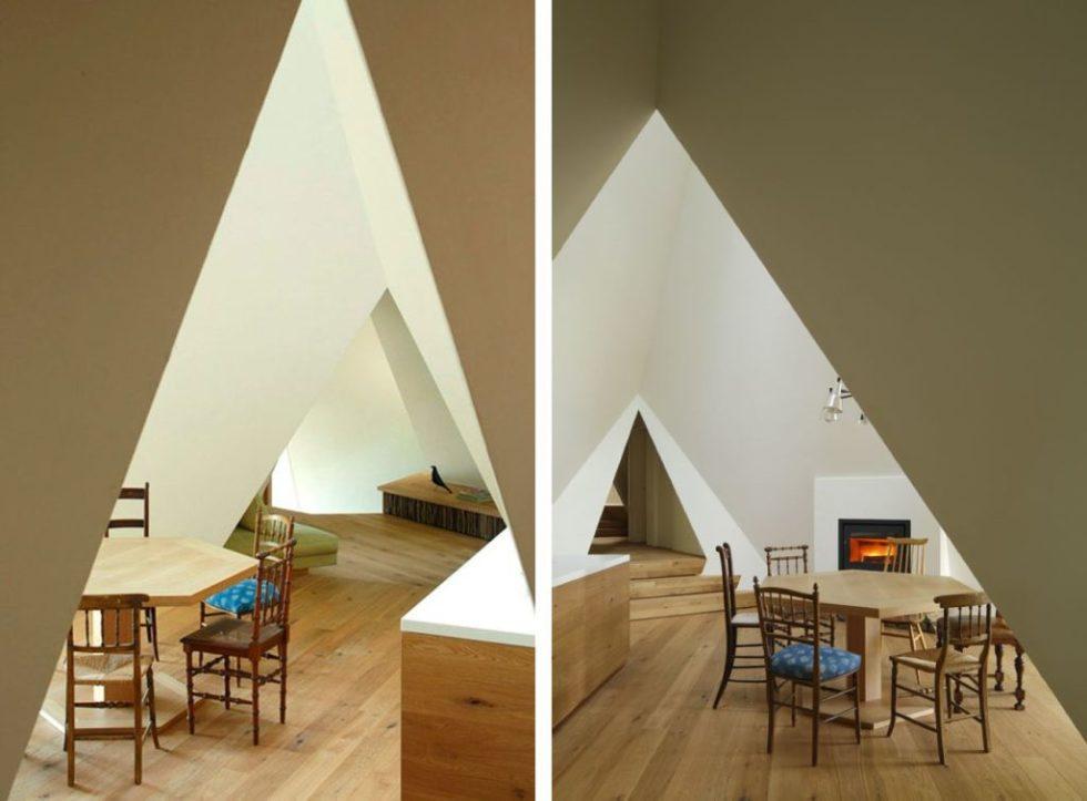 Teepee Nasu home by hiroshi nakamura - Interior design