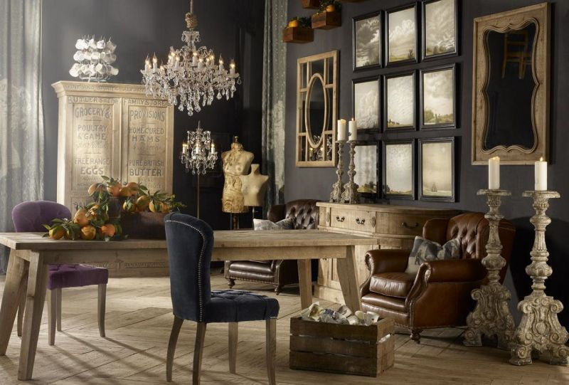 Vintage Style Interior Design Ideas Enchanting Style Design Furniture