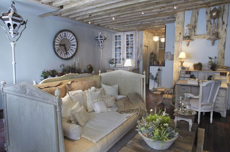 Vintage interior design - furniture