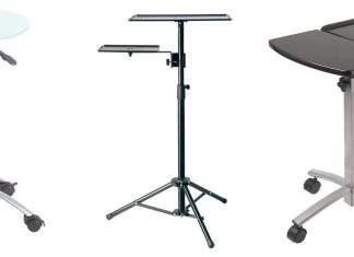 Adjustable height laptop table – easiness, comfort, mobility.