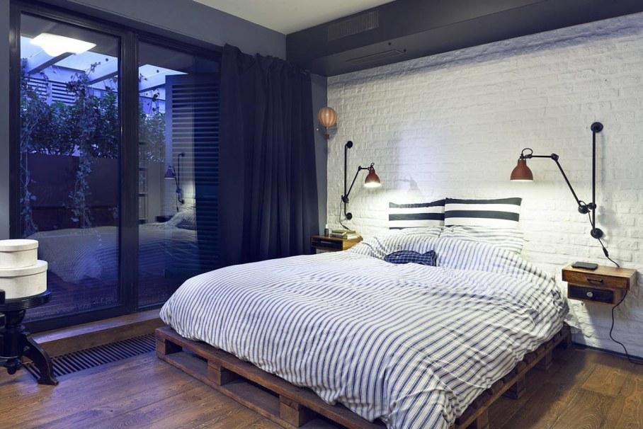 Attic Apartment - Bedroom