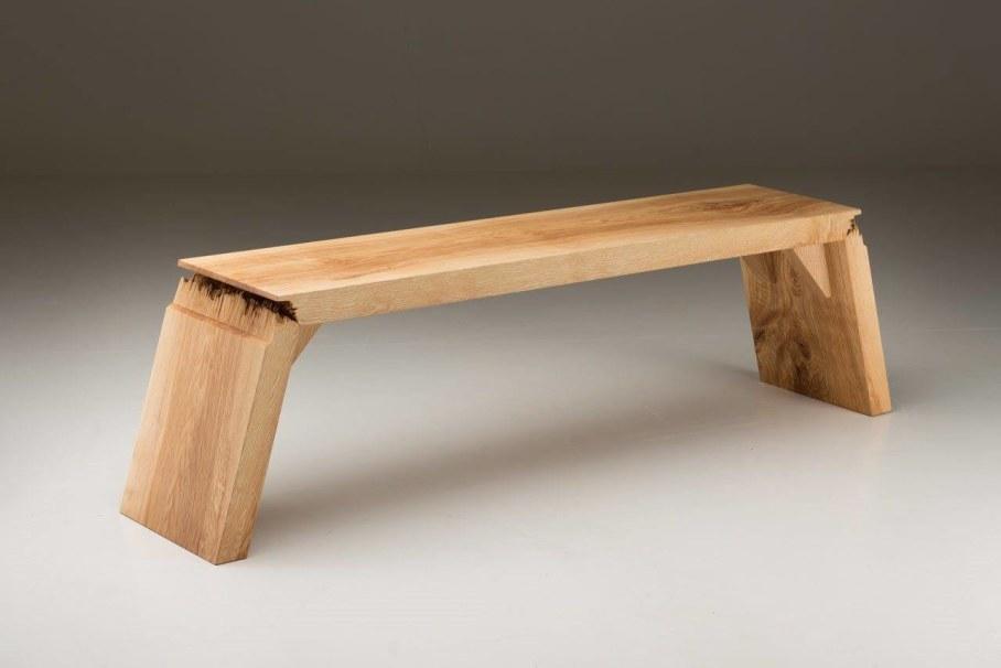Broken Wood Furniture by Jalmari Laihinen - bench