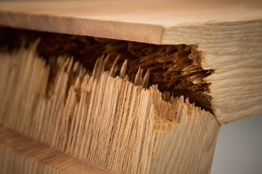 Broken Wood Furniture by Jalmari Laihinen - original technology