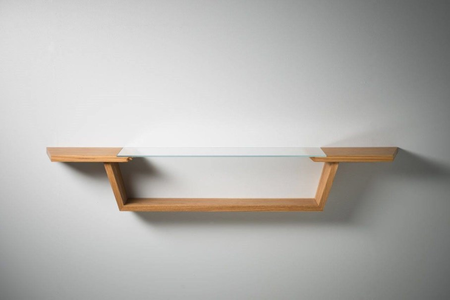 Broken Wood Furniture by Jalmari Laihinen - shelf