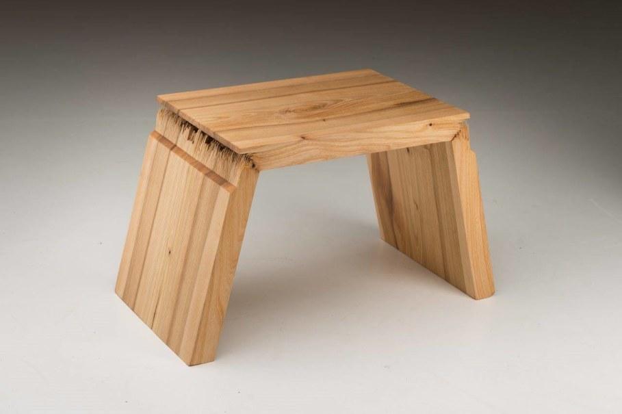 Broken Wood Furniture by Jalmari Laihinen - stool