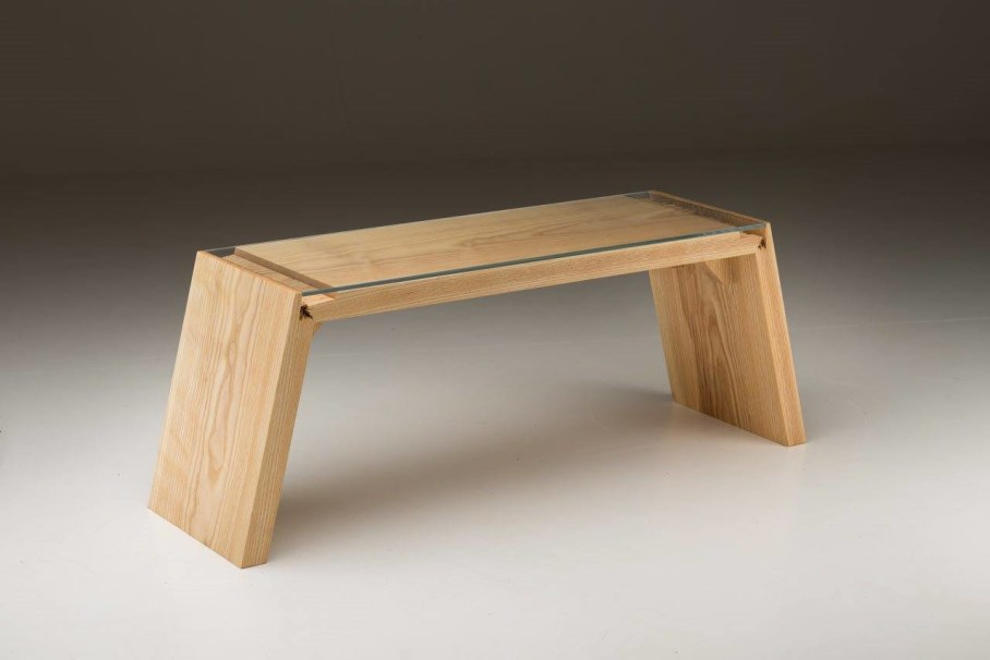 Broken Wood Furniture by Jalmari Laihinen - table