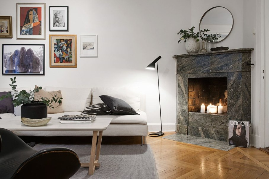 Goteborg's Apartment - A place to relax with a fireplace