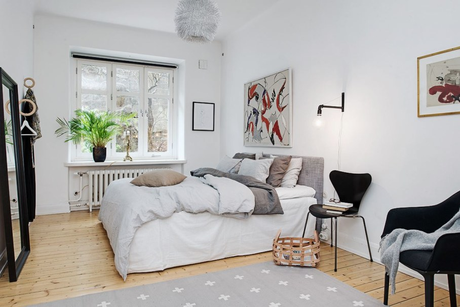 Goteborg's Apartment - The master bedroom
