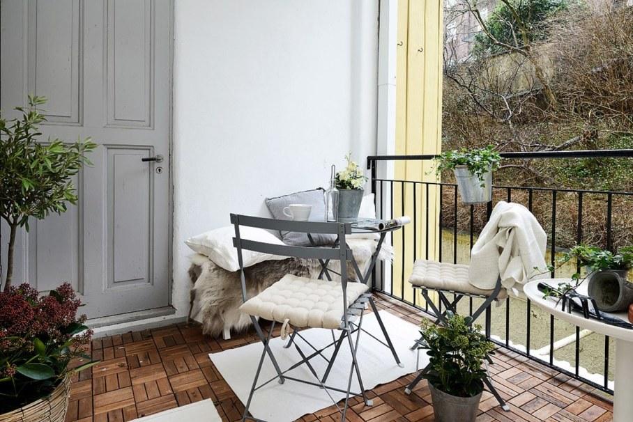 Goteborg's Apartment - balcony