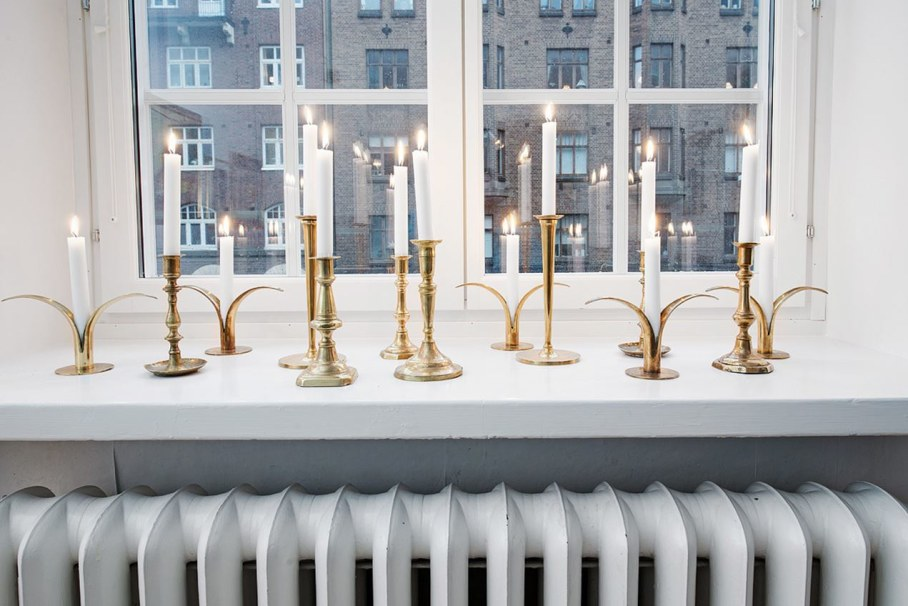 Goteborg's Apartment - in Sweden, like light from candles