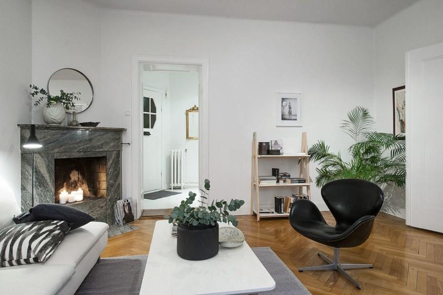Goteborg's Apartment - many live plants