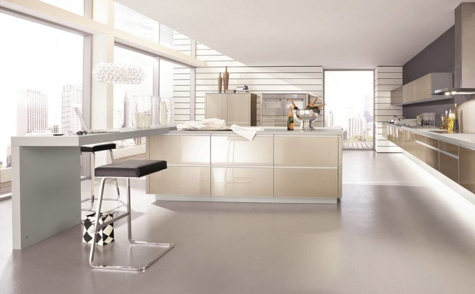 High-Tech Style Kitchen