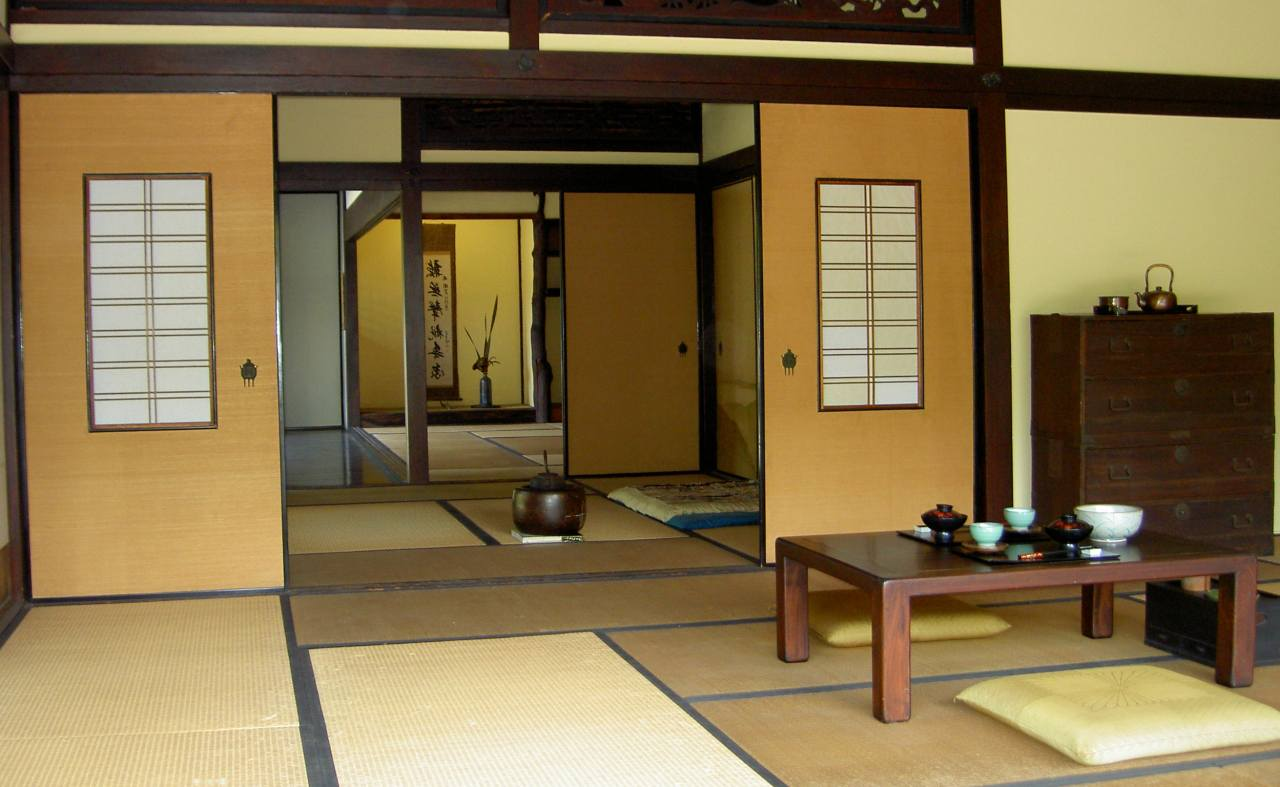 Japanese style interior design ideas for Living room japanese
