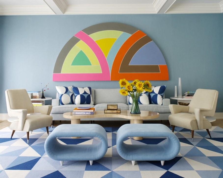 Midcentury living-room design