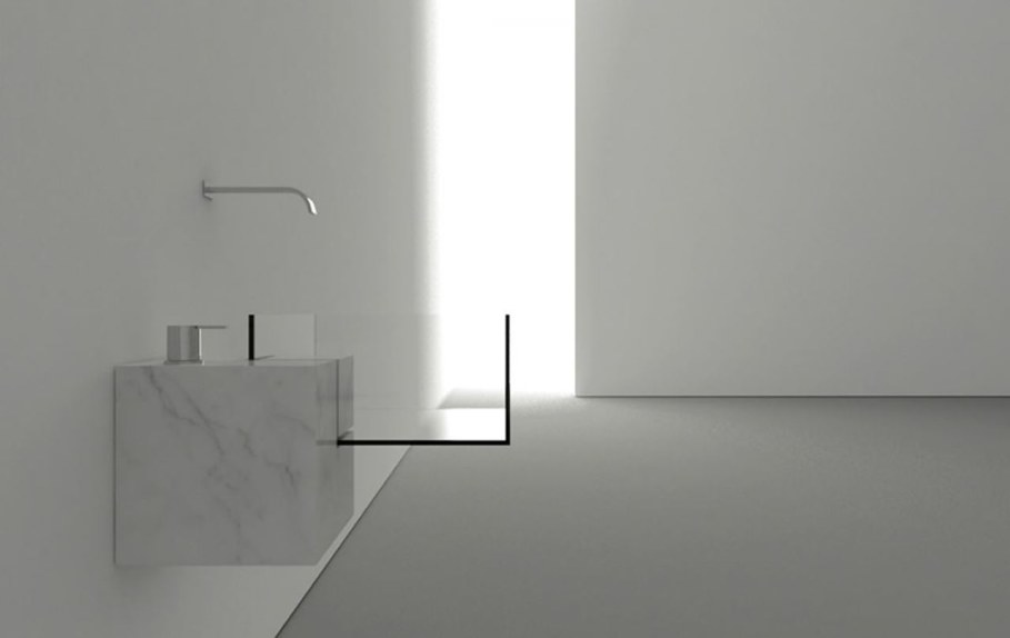 Minimalism-Styled Bathroom Wash Basin by Victor Vasilev 1