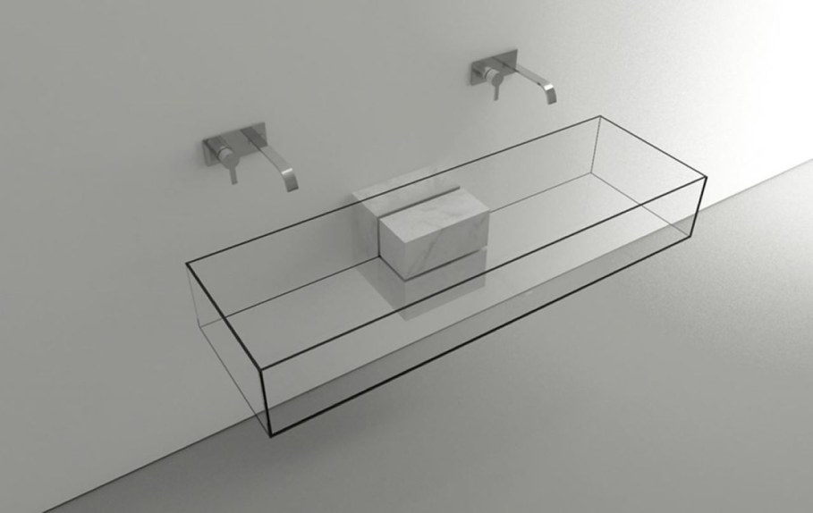 Minimalism-Styled Bathroom Wash Basin by Victor Vasilev 2
