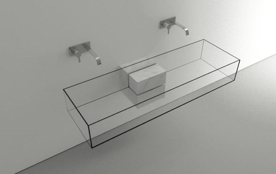 Minimalism-Styled Bathroom Wash Basin by Victor Vasilev 2