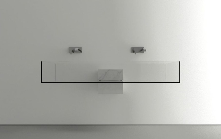 Minimalism-Styled Bathroom Wash Basin by Victor Vasilev 3