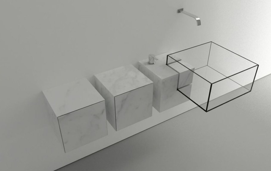 Minimalism-Styled Bathroom Wash Basin by Victor Vasilev 4