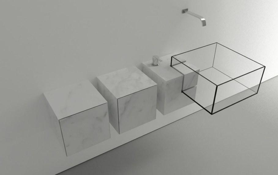 Minimalism-Styled Bathroom Wash Basin by Victor Vasilev 4