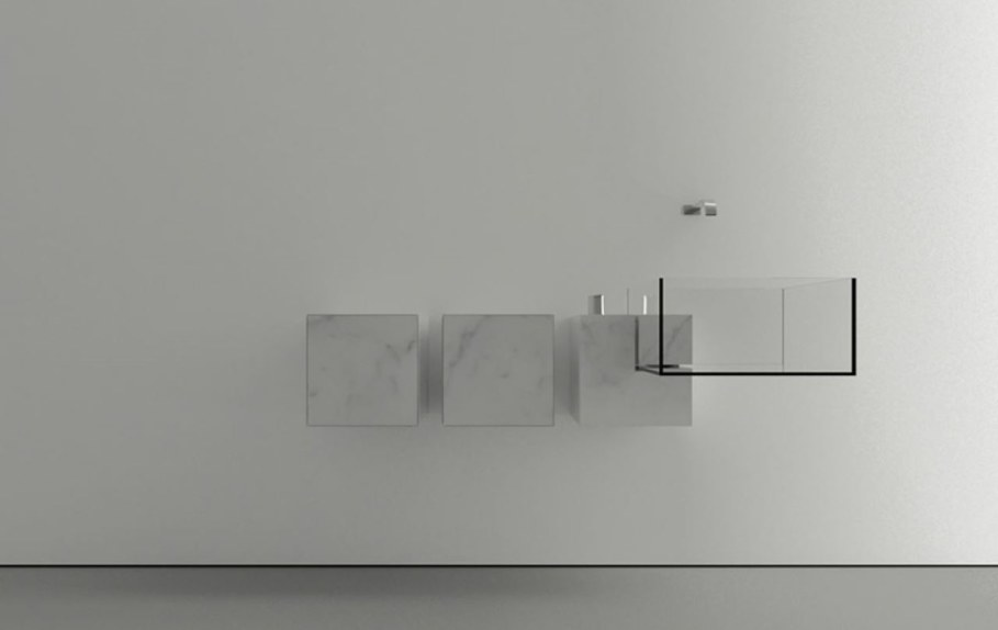 Minimalism-Styled Bathroom Wash Basin by Victor Vasilev 6
