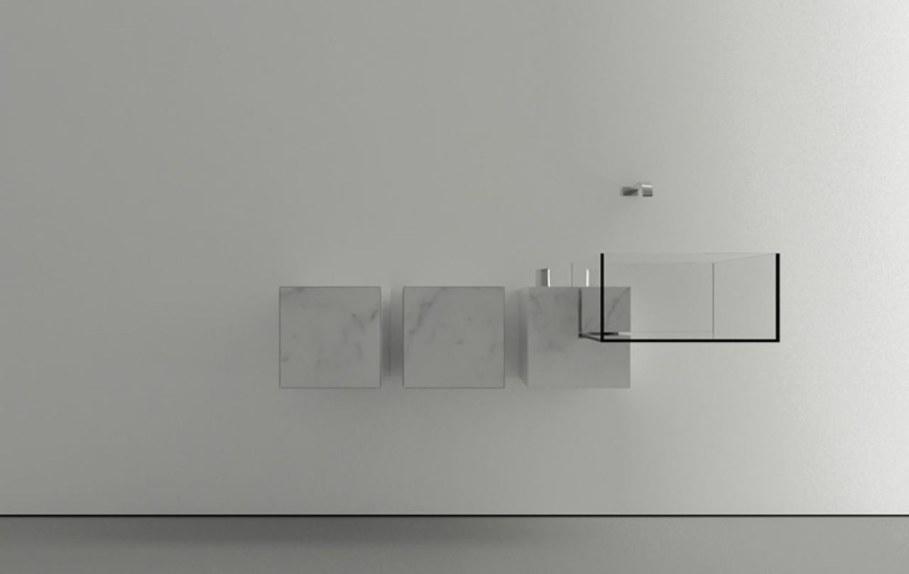 Minimalism-Styled Bathroom Wash Basin by Victor Vasilev 6