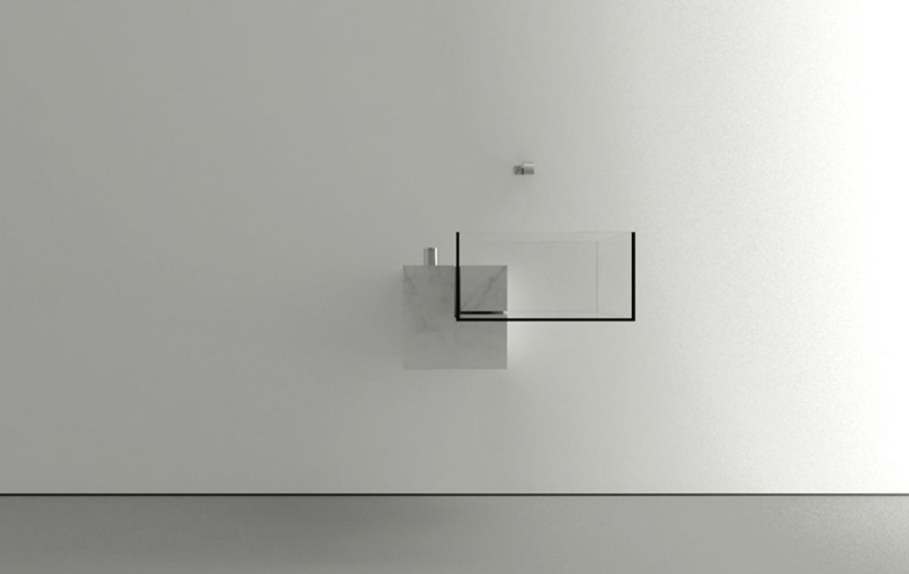 Minimalism-Styled Bathroom Wash Basin by Victor Vasilev 7