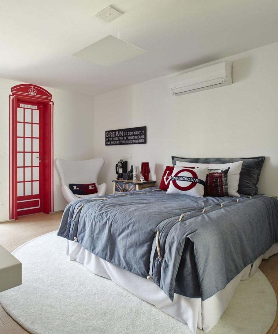 Modern Apartment in Sao Paulo - bedroom
