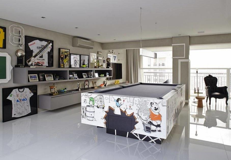 Modern Apartment in Sao Paulo - billiard table