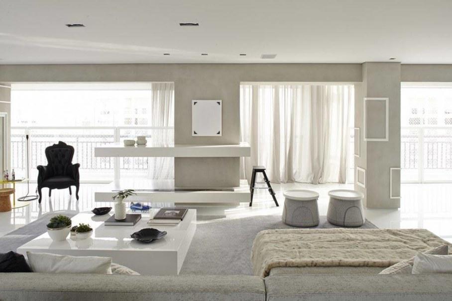 Modern Apartment in Sao Paulo - interior design