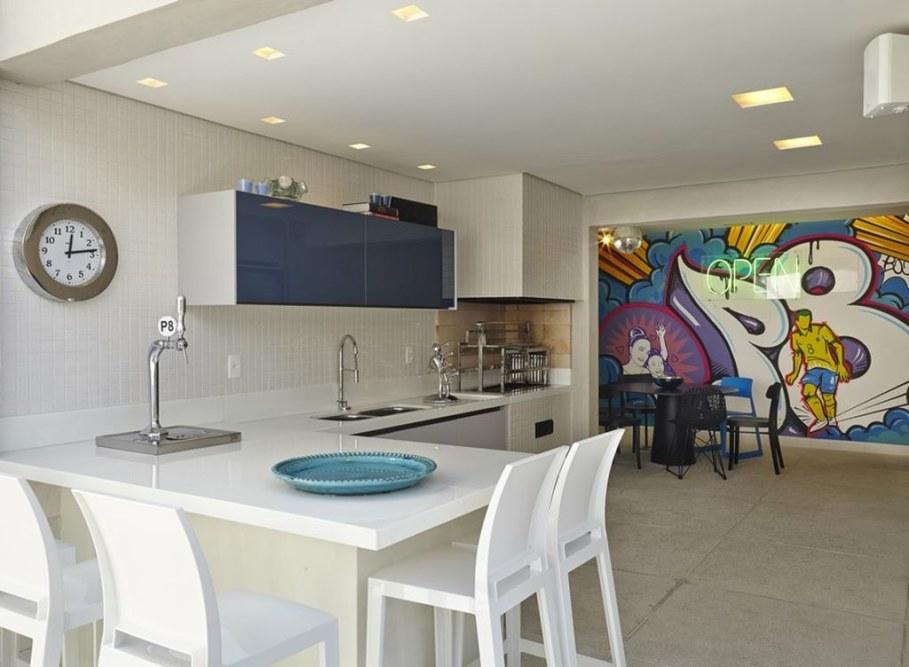 Modern Apartment in Sao Paulo - kitchen